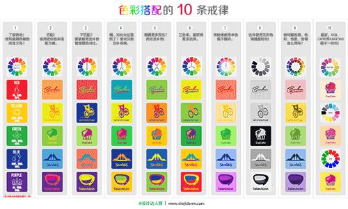 字体与色彩搭配的10条戒律