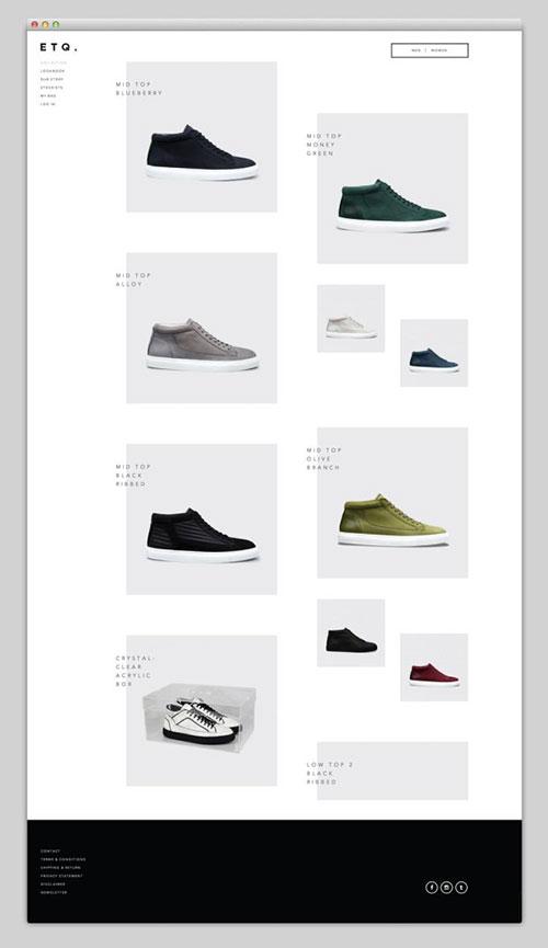 极单 简约 网页设计