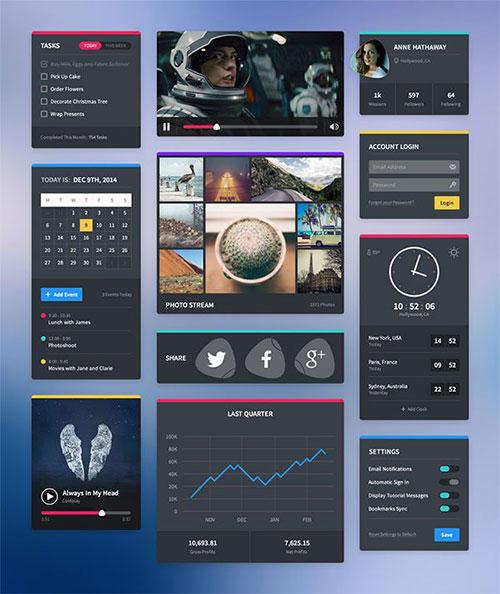 jefferson-ui UI设计素材