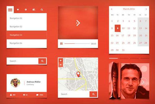 mobile1 APP设计 PSD素材