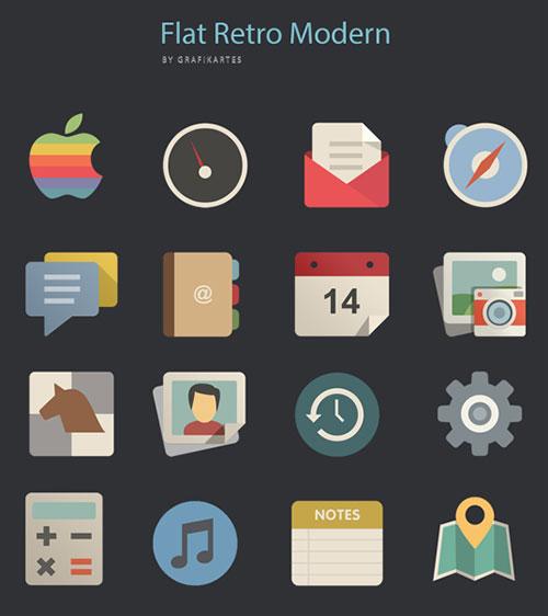 扁平化图标 icon