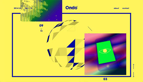 Ondo 网页设计欣赏