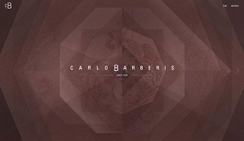 Carlo Barberis 网页设计欣赏