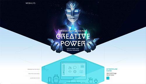 Webalys 网页设计欣赏