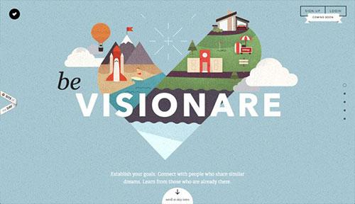 Visionare 网页设计欣赏