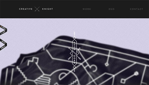 Creative Knight 网页设计欣赏