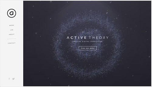 Active Theory 网页设计欣赏