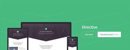 directive 网站模板