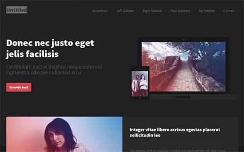 untitled 网站模板