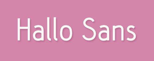 Hallo Sans