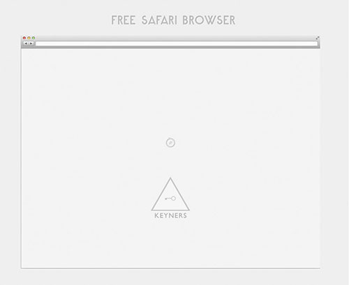 Safari浏览器 PSD