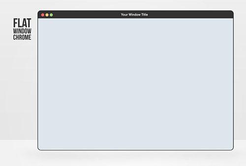 Chrome浏览器 PSD