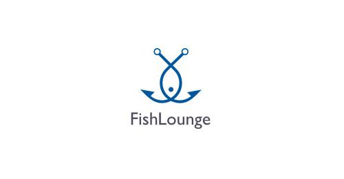 鱼 logo