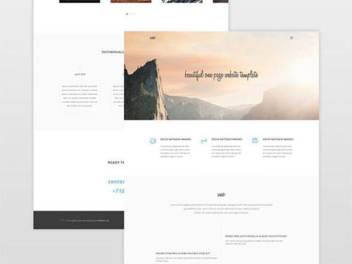 Uno 网页模板