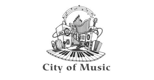 50个创意音乐logo设计作品