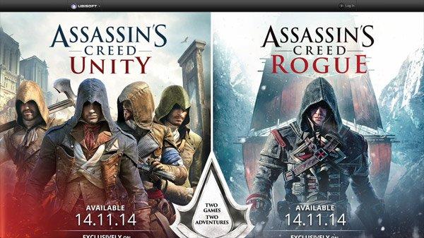 Assassin's Creed 网页设计欣赏
