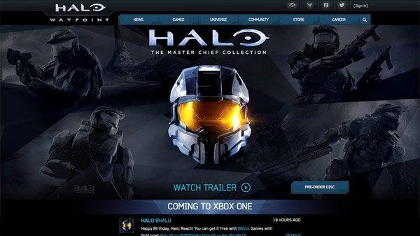 Halo 网页设计欣赏