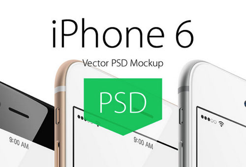 iPhone 6 PSD