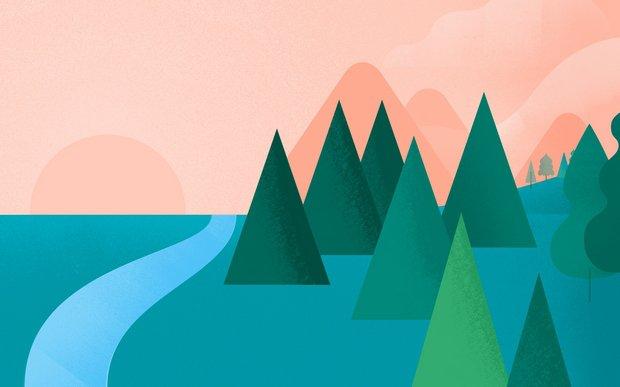 10张鲜艳的Material Design风格壁纸