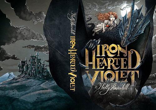 Violet 书籍封面设计