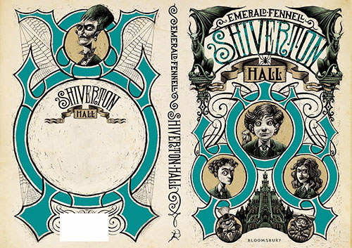 SHIVERTON 书籍封面设计