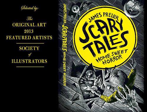 Scary 1 书籍封面设计