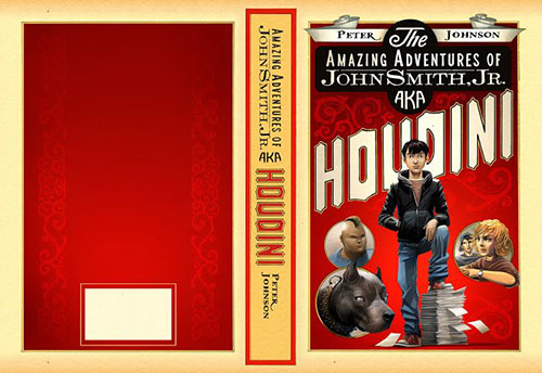 Houdini 书籍封面设计