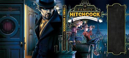 Family  Hitchcock 书籍封面设计