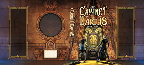 Cabinet of Earths 书籍封面设计