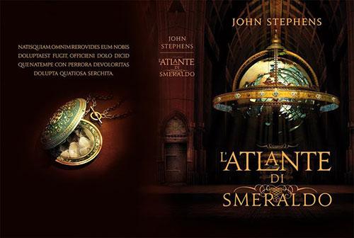 Iacopo bruno atlante smeraldo 书籍封面设计