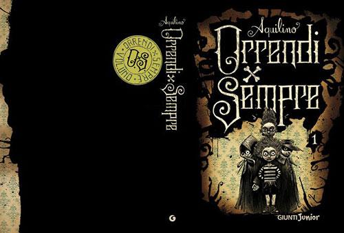 Iacopo bruno Orrendi 1 书籍封面设计
