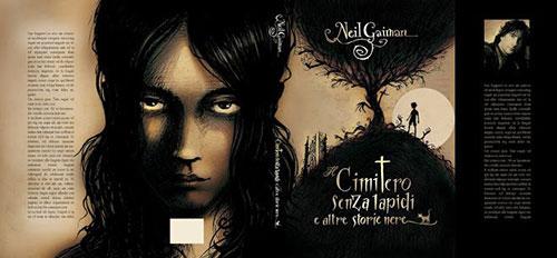 Iacopo bruno Gaiman Cimitero 书籍封面设计