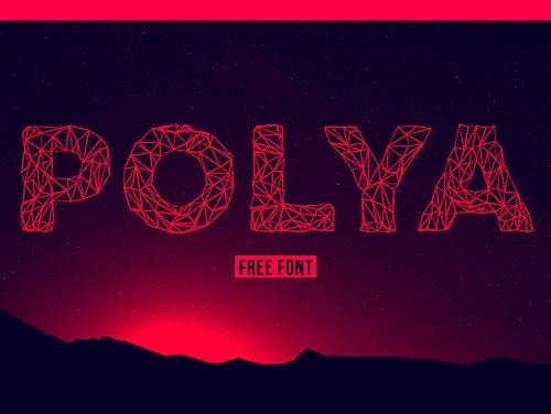Polya Free 字体下载