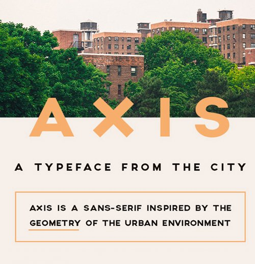 AXIS Free 字体下载