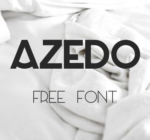 Azedo Free 字体下载