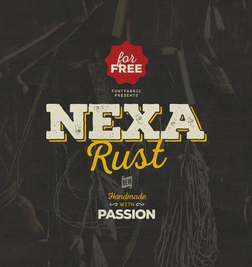 Nexa Rust Free 字体下载