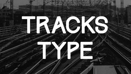 Tracks Type Free 字体下载