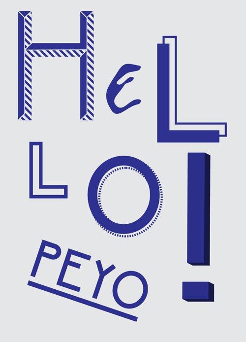 PEYO Regular – Free 字体下载