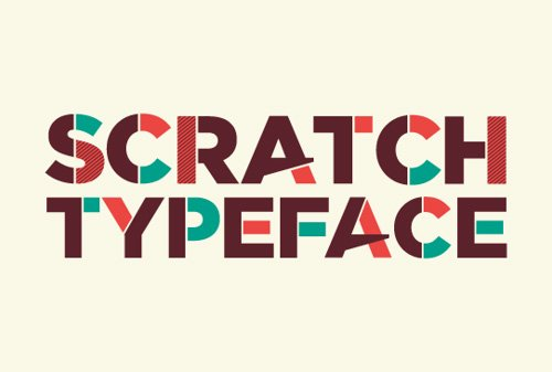 Scratch Free 字体下载