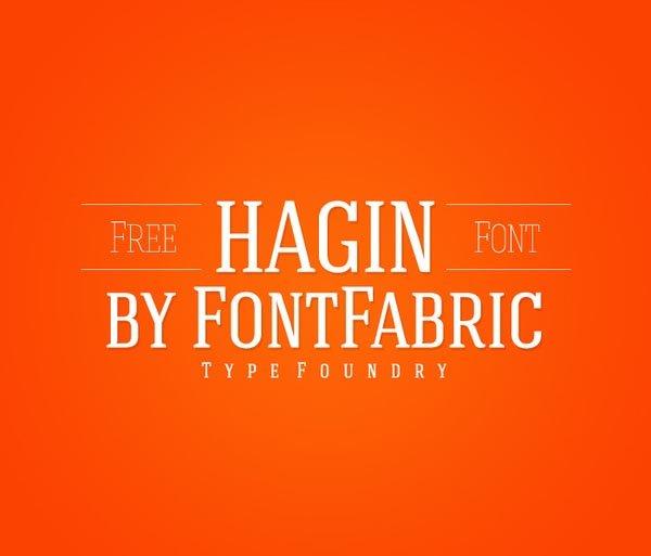 Hagin Free 字体下载