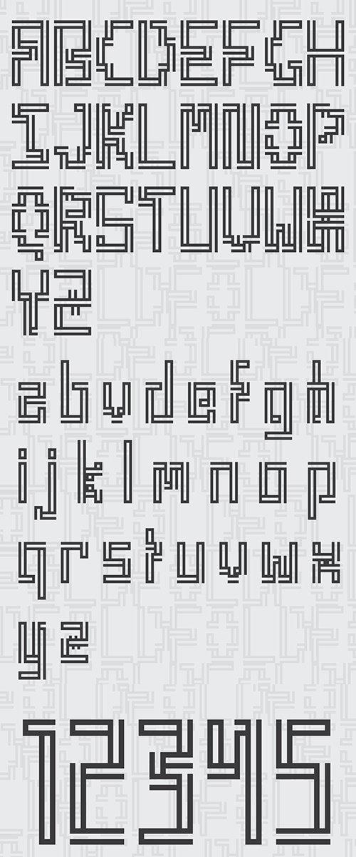 Fold Free 字体下载