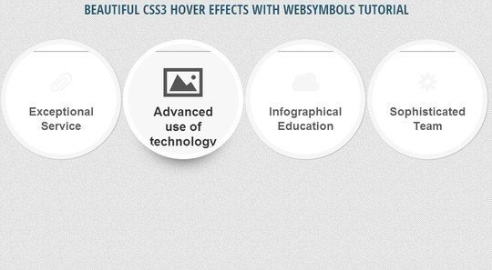 33 jQuery and CSS3 to achieve the gorgeous hover effect of