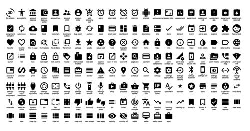 Material Design图标