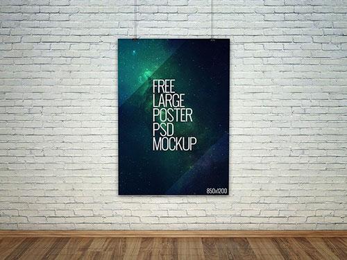 36套免费高清海报、UI、VI效果图模板