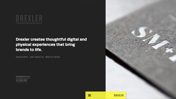 Drexler 网页设计欣赏