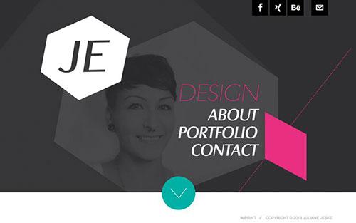Juliane Jeske 优秀网页设计欣赏