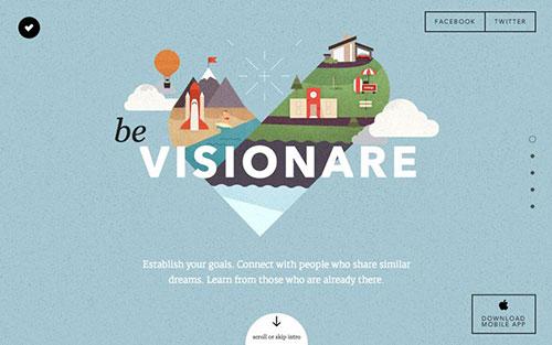 Visionare 优秀网页设计欣赏