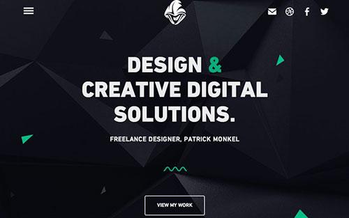monk-design 优秀网页设计欣赏