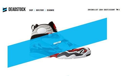 deadstockinc 优秀网页设计欣赏