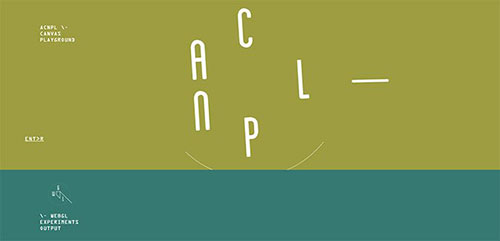 网页设计欣赏:acnplwgl-2